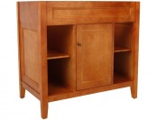"50% off Foremost TRIA3622 Exhibit 36"" Vanity, Rich Cinnamon Maple"