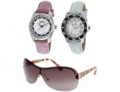 93% off Women's Invicta Watch Combo with Free Sunglasses