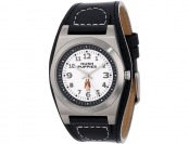 $81 off Hush Puppies Men's Cuff 3 Hand Minute Track Watch