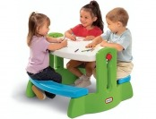 32% off Little Tikes Adjust 'N Draw Table, Green and Blue