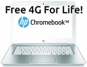 $140 off HP Chromebook 14, 32GB SSD (Certified Refurbished)