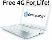 $140 off HP Chromebook 14, 16GB SSD (Certified Refurbished)