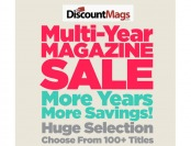 Multi-Year Magazine Subscription Sale - 100+ Tittles to Choose From