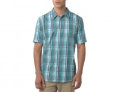 56% off Men's prAna Duke Short-Sleeve Button Shirts, 3 Styles
