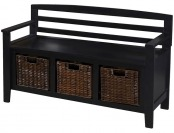 $100 off Entryway Bench with Drawers and Baskets