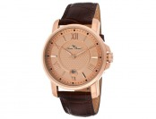 93% off Lucien Piccard Cilindro Rose Gold Men's Watch