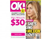 95% off 3-Year OK! Magazine Subscription, 156 Issues / $30