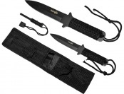 "74% off Survivor HK-1035 10"" & 7"" Outdoor Fixed Blade Knives"