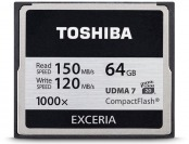 68% off Toshiba 64GB EXCERIA 1000x Compact Flash Memory Card