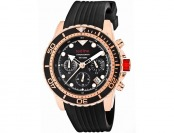 $745 off Red Line Men's Piston Chronograph Rose Gold Watch