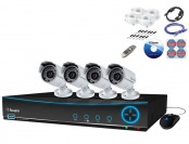 50% off Swann DVR4-4200 960H Digital Video Recorder & 4 Cameras