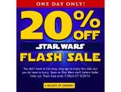 ThinkGeek Star Wars Sale - Extra 20% off Everything Star Wars