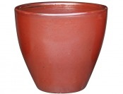 90% off Garden Treasures Brown Ceramic Indoor/Outdoor Planter