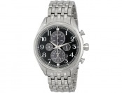 $288 off Seiko SSC207 Silver Men's Chronograph Watch