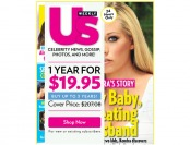 90% off Us Weekly Magazine Subscription, $19.95 / 52 Issues
