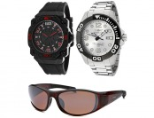 89% off Invicta Pro Diver SS and Comanche Watches + Sunglasses