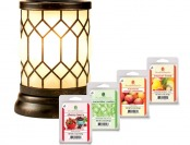 26% off ScentSationals Bronze Lantern Wax Warmer Starter Set