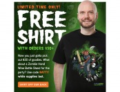 Get a Free Shirt When You Spend $30+ at ThinkGeek.com