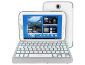 84% off ZAGGkeys Samsung Galaxy Note 8 White Folio Keyboard