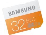 33% off Samsung 32GB EVO SDHC Class 10 Memory Card