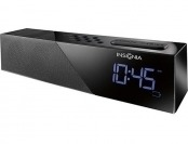 64% off Insignia Bluetooth Clock Radio, USB Port, Dual Alarm