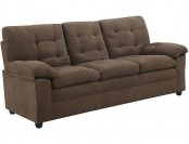 72% off Buchannan Microfiber Sofa, Multiple Colors