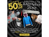 Up to 50% off Halloween Gear at ThinkGeek + an Extra 20% Off