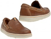 $80 off Dunham DAH02BTN Men's Clay Slip On Dress Shoes