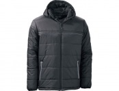 68% off Dutch Harbor Quilted Hooded Nylon Men's Winter Coat
