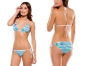 71% off Oakley Women's Cookin' Skimpy Fit Printed Bikini Bottom