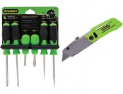 82% off Stanley 7-Piece Variety Pack Screwdriver Set
