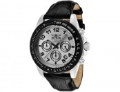 91% off Invicta 10708 Speedway Chronograph Leather Watch