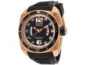 91% off Elini Barokas Commander Silicone Watch, 10013-RG-01-BB