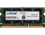 $24 off Crucial 8GB DDR3 1600 204-Pin SO-DIMM Laptop Memory