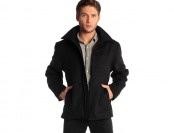 $135 off Alpine Swiss Men's Grant Wool Blend Bomber Jacket