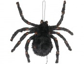 "50% off Halloween 24"" Hanging Spider with Orange Lights"