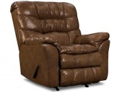 58% off Simmons Upholstery Bonded Leather Recliner Chair