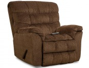 58% off Simmons Upholstery James Recliner Heat & Massage Chair