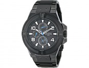 65% off Armitron Stainless Steel Black Ion-Plated Men's Watch