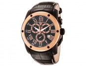 93% off Swiss Legend Traveler Collection Leather Men's Watch