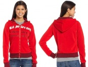 80% off U.S. Polo Assn. Juniors Fleece Jacket with Hood
