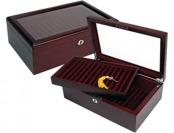 80% off Tabula Rasa Britannica Mahogany Cufflink/Jewelry Box