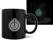 60% off Power Symbol Glow in the Dark Mug