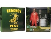 "$10 off Breaking Bad 6"" Walter White in Orange Hazmat Suit"