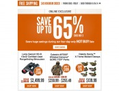 Cabela's 4-Day Hot Buy Sale - Up to 65% off