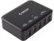 74% off Orico 8Amp 40Watt 5 Ports USB Smart Charging Station