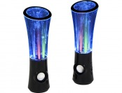 72% off Lumisource Boom2O Speakers w/ Water & Light