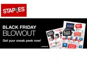Staples Black Friday Sale - Weekly Ad Preview