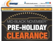 Newegg November Pre-Holiday Sale - Tons of Great Deals