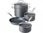 $221 off Cuisinart Chef's Anodized 8-Piece Cookware Set